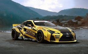 Картинка Lexus, Rockstar, Tuning, Future, Energy, Drink, by Khyzyl Saleem, LC 500