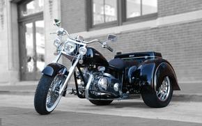 Картинка 2008, Трицикл, Классический Трайк, Glide Auto Trike, Линия 0eight Ridley, 750 v-twin, CVT, Ridley