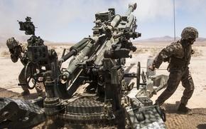 Картинка оружие, армия, гаубица
