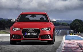 Картинка Audi, ауди, Germany, универсал, Wagon, 2014, V-8, RS 6 Avant