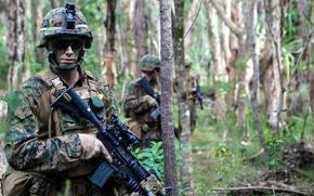 Картинка оружие, солдаты, United States Marine Corps