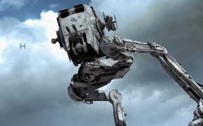 Картинка боевая машина, фон, Battlefront, Star Wars