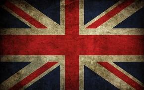 Обои цвета, флаг, британия