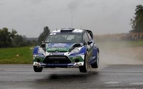 Картинка 2012, ford, rally, wrc, fiesta, tarmac