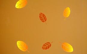 Обои текстура, фон, листья