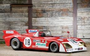 Картинка Классика, Alfa Romeo, 1972, 1973, Tipo 33-3 TT