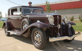 Картинка авто, ретро, США, Америка, автомобиль, классика, 1932, Model 91, President St. Regis Brougham, Studebaker