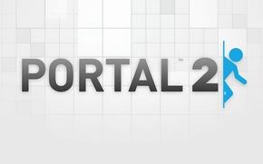 Обои game, портал, portal 2, valve