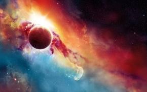 Картинка планета, галактика, Orcus