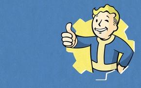 Картинка Bethesda Softworks, Bethesda, Bethesda Game Studios, Fallout 4, The Art of Fallout 4, Vault Boy, ...