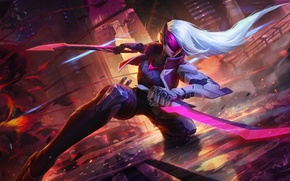Картинка lol, Katarina, league of legends, Катарина, riot games, riot, Project Katarina, Проект Катарина
