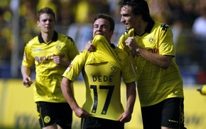 Обои германия, borussia dortmund, bundesliga, mario gotze, football wallpapers 1920x1200, football wallpapers hd