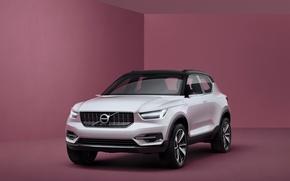 Картинка Concept, фон, Volvo, концепт, Coupe, вольво, кроссовер