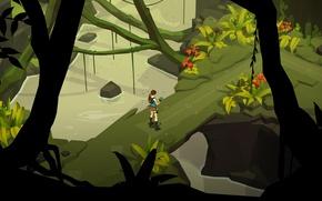 Картинка игра, руины, game, Лара Крофт, Square Enix, Lara Croft, Crystal Dynamics, пошаговая стратегия, Lara Croft …