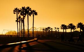 Обои city, город, USA, Los Angeles, Santa Monica, Califonia