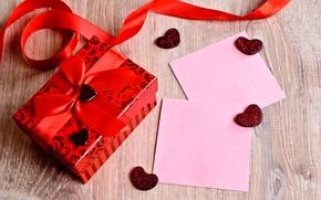 Картинка подарок, сердце, love, vintage, heart, romantic