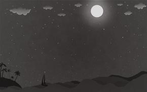 Картинка креатив, фон, минимализм, красиво, тёмные