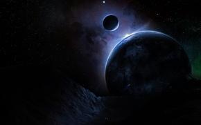 Обои Звезды, Планета, Nox Noctis