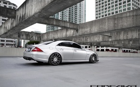 Картинка Mercedes-Benz, silver, CLS 63AMG