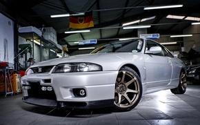 Картинка Nissan, GT-R, Skyline, Garage, R33
