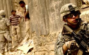 Картинка оружие, люди, солдаты, ирак