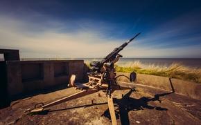 Картинка оружие, фон, 2cm FLAK 28 Oerlikon