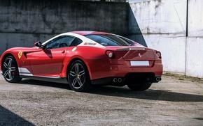 Обои феррари, суперкар, 599, GTB, Ferrari