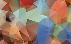 Картинка свет, цвет, пирамида, угол, геометрия, грань, треугольник, рельеф