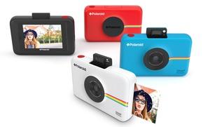 Картинка girl, photography, hat, photo, memories, Polaroid, photographic machine, Polaroid Snap, Snap touch