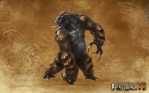 Картинка Когти, Might & Magic 7, Герои меча и магии 7, Непокорные племена, Чудище