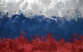 Обои флаг, россия, триколор, russia