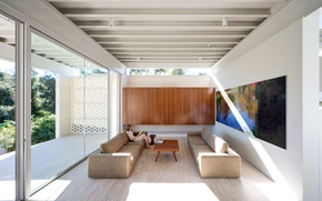 Картинка windows, comfort, aluminum openings, Stewart House, comfortable sofas, jumbo frames, natural Lightings