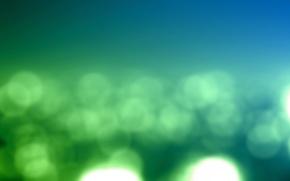 Обои огни, цвет, зеленый
