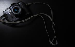 Обои фон, черный, Зенит, фотоаппарат