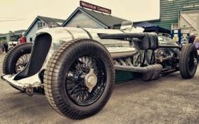 Картинка car, vintage, race, classic, brooklands