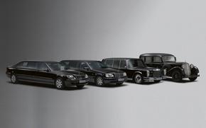Обои mercedes-benz, ретро, лимузин, автомобили