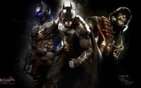 Картинка бэтмен, арт, рыцарь, пугало, batman arkham knight