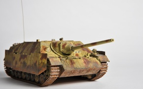 Картинка игрушка, установка, (САУ), моделька, самоходно-артиллерийская, Jagdpanzer IV/70