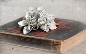 Картинка стиль, Origami, Book