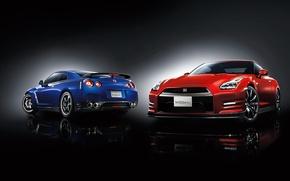 Картинка Nissan, GT-R, 2015