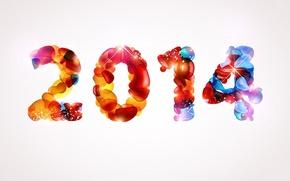 Обои christmas, Creative, Wallpaper, New Year, Effect, Smoking, 2014