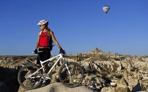Картинка горы, горный велосипед, Cross country