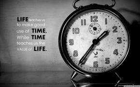 Картинка words, time, clock