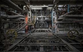Картинка завод, интерьер, фабрика