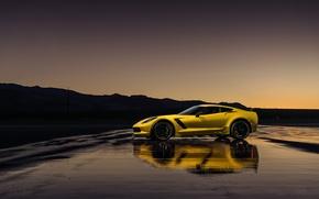 Картинка Z06, corvette, chevrolet, C7 R