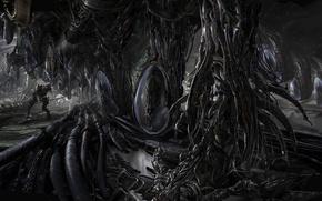 Картинка миры, пришельцы, Ryan Church