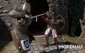 Картинка воин, средневековье, Mordhau, средневековый экшен, многопользовательский средневековый экшен, воин средневековья