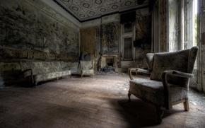 Картинка Кресло, диван, комната