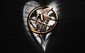 Картинка свобода, кулон, символ, Сойка пересмешница