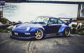 Картинка 911, Porsche, Dark, Blue, GT2, (993)